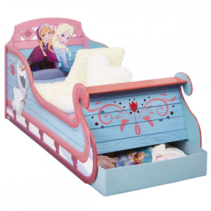 wooden frozen bed | Frozen Junior Sleigh Bed | Great-Kidsbedrooms, the children bedroom ...