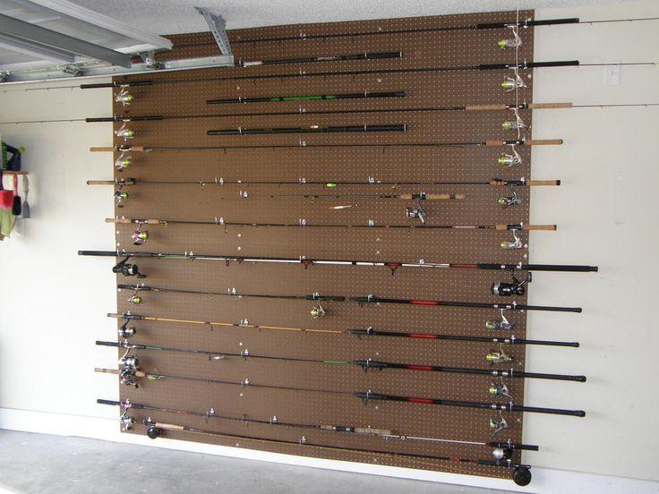 Fishing Rod Rack/Holder ideas? - Georgia Outdoor News Forum