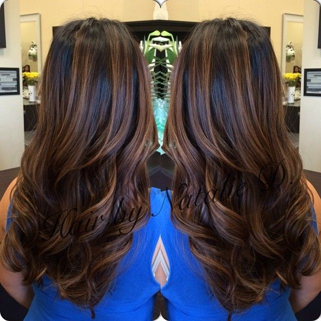 Love the color and bayalage highlights