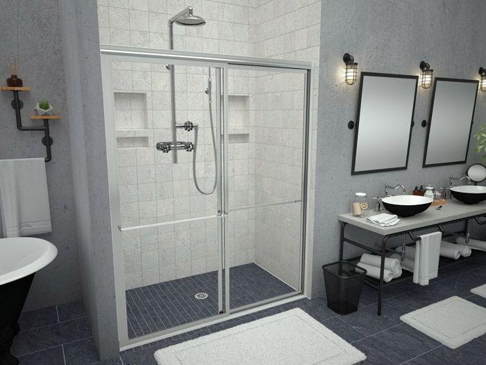 Redi Free Barrier Free Brands Recessed Shower Shelf Shower Pan Shower Shelves