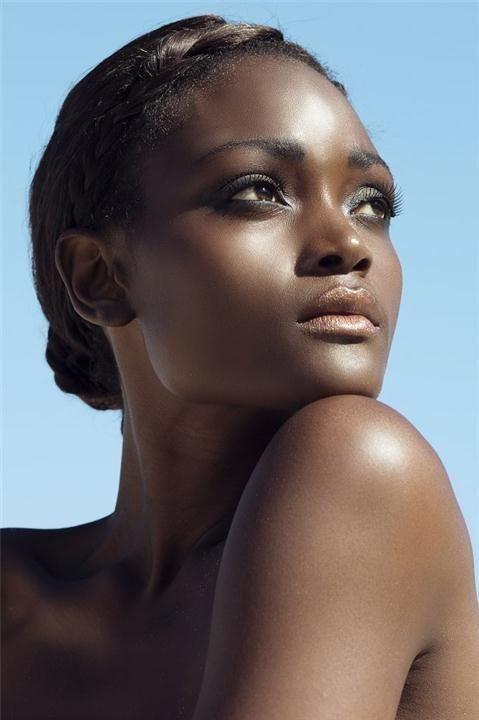 Beauty Darkskin Makeup Portrait Darkskin Blackwomen: 330 Best • •Black Beauties• • Images On Pinterest