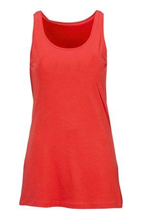 Fede Cellbes Top 2-Pack Koralrød Hvid Cellbes T-shirt & toppe til Damer til enhver anledning