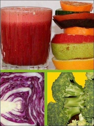 Vegetables To Use When Juicing For Weight Loss: Cauliflower (white or purple) Broccoli (green or purple) Brussels sprouts Kale (green or purple) Bok choy Cabbage (green, red or purple) Collards greens Watercress Radish Broccoli sprouts Arugula (rocket) Kohlrabi (white or purple) Mustard greens Turnip Broccoflower Daikon