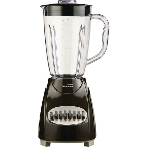12-Speed Blender with Plastic Jar (Black) - BRENTWOOD - JB-220B