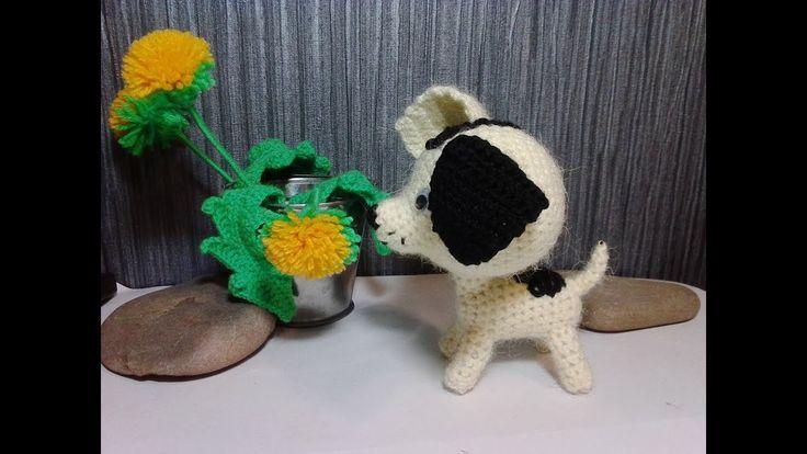 Щенок Шарик, ч.2.  Puppy Ball,р.2.  Amigurumi. Crochet.  Амигуруми. Игру...