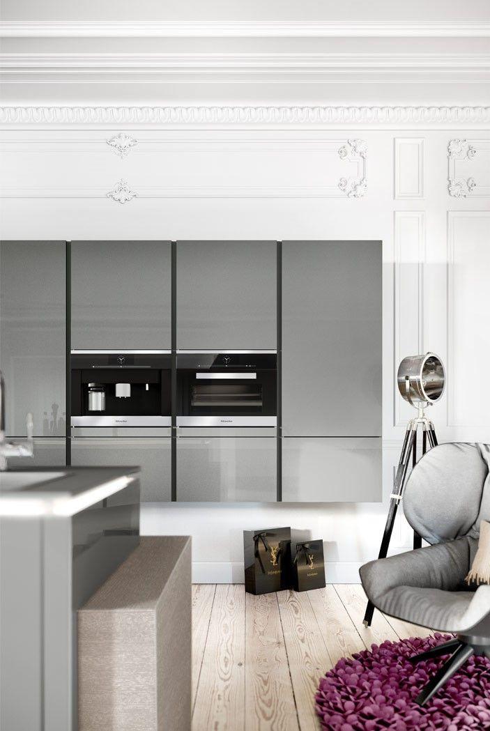 Hacker Kitchen 5090 Gl Kitchendecor Kitcheninterior Interiordesign Home Interior Luxury Modern Clic Style Design Furniture