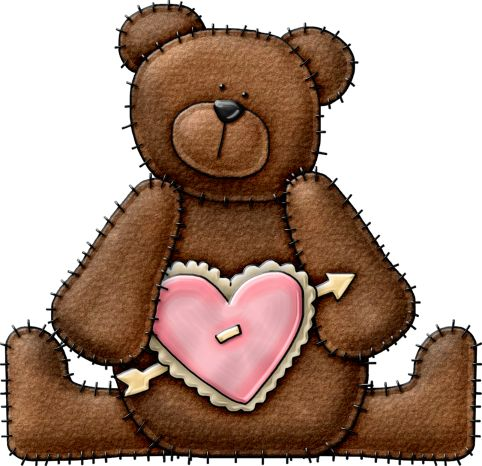 85 best all things bears images on pinterest clip art teddy kstewvalentinebearspink bear5g bear artwool appliqueteddy fandeluxe Ebook collections
