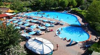 Zwembad Camping San Marino 2012.