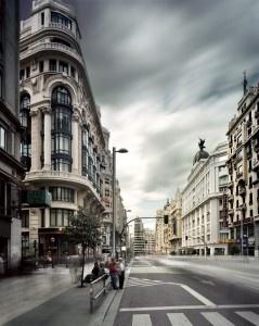 Calle Gran Vía Autor Fernando Manso