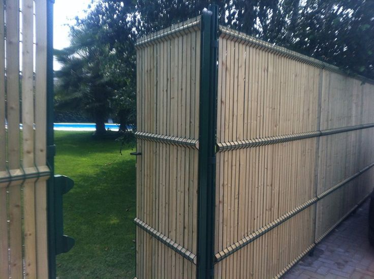 Screening wooden Fence BEKAFOR® COLLFORT by BETAFENCE ITALIA