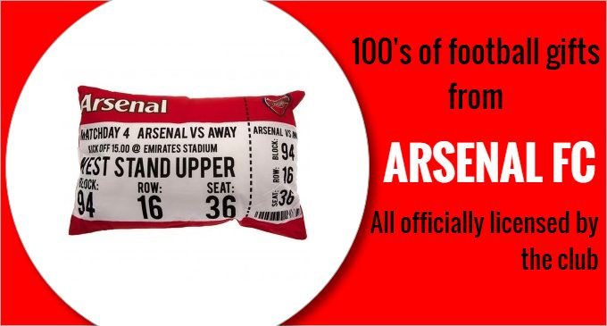 Football Gifts | Football Souvenirs | LFC Shop | Arsenal Shop