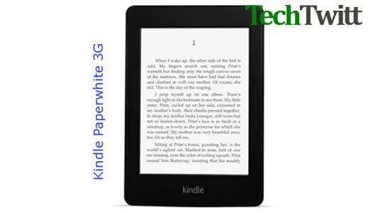 Kindle Paperwhite 3G – Download E-books in Less than 60 Second
