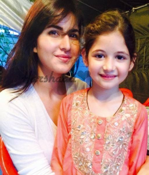 Katrinakaif and Harshaali Malhotra