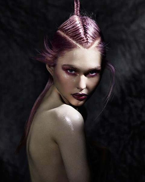 "haircutgalaxy: "" Hair: Zullo & Holland Artistic Team Photography: Richard Miles Make-Up: Roseanna Velin """