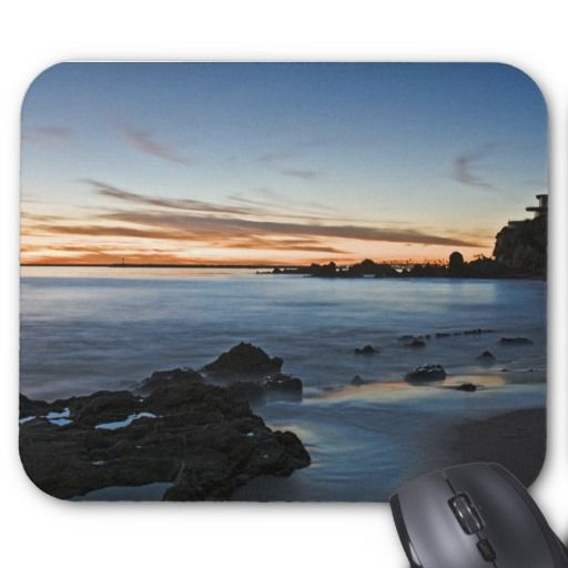 Gorgeous Ocean Sunset Mouse pad