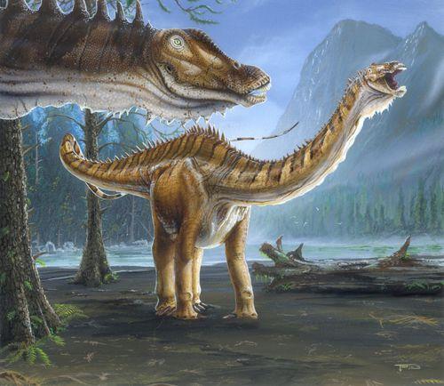 Sauropods Diplodocus Paleo Art Pinterest September