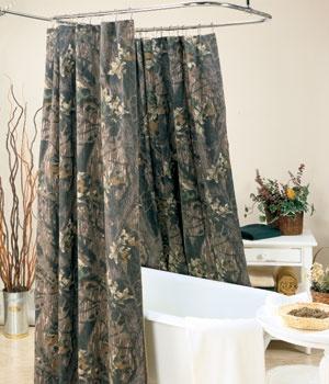 Mossy Oak Break Up Shower Curtain