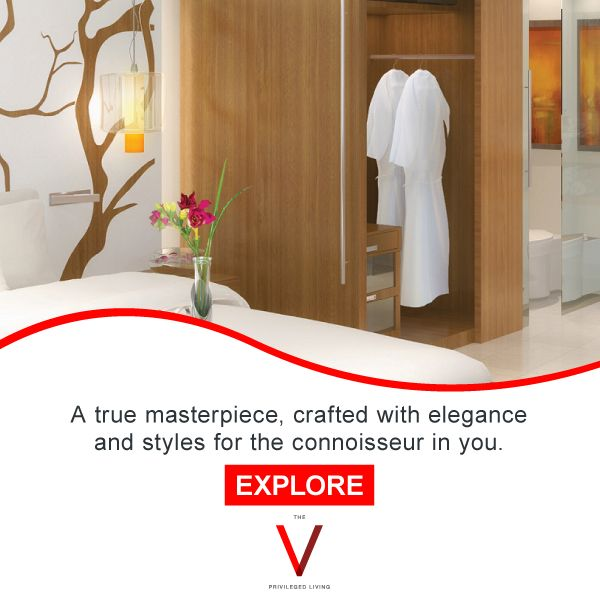 A piece of art blended with luxury - The V awaits you: http://bit.ly/TheVKolkata
