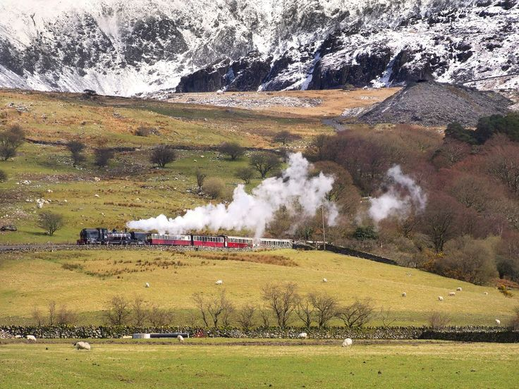 At 10:15, on Saturday 18th February, the first train of the Welsh Highland Railway's half-term holiday service will steam out of Dinas station, heading to Beddgelert.