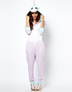 ASOS Onesie In Unicorn Style: @Catherine Batres get ready... My new sub shop outfit.