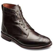 Dalton - Wingtip Lace-up Oxford Men's Dress Boots by Allen Edmonds