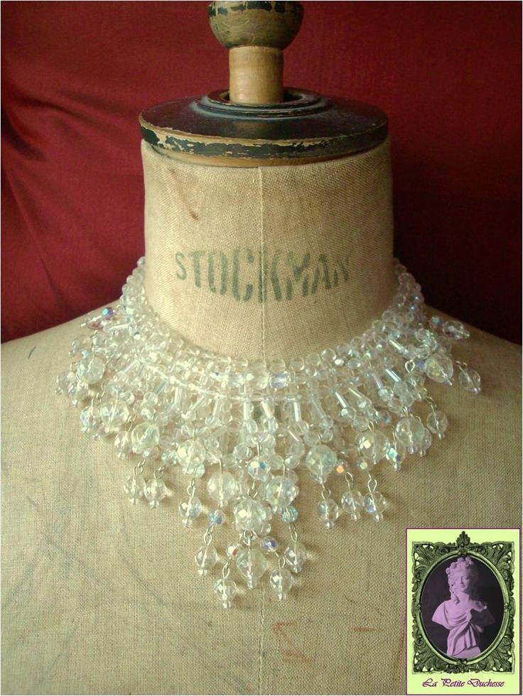 Colliers en cristal - Vintage Etsy FR
