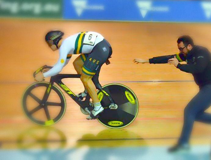 Vittoria Pista Graphene Tubulars - Team Australia - Credit: Richard Morton