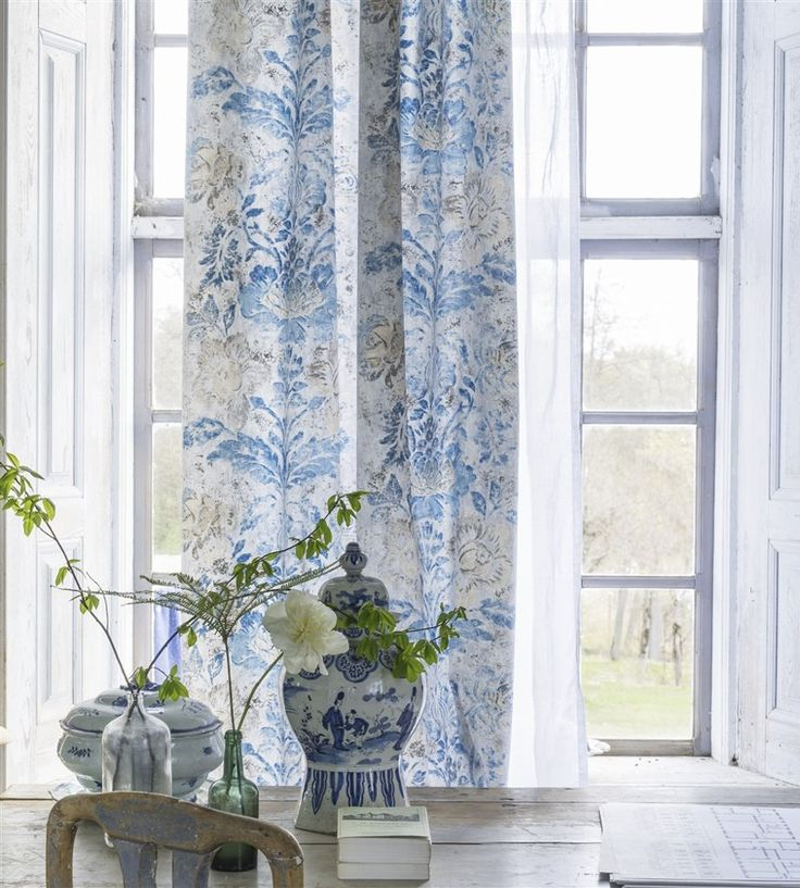 Design Classic | Vintage | Damasco Fabric by Designers Guild | Jane Clayton