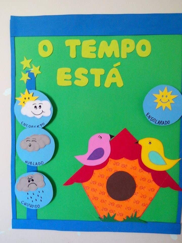 calendários do tempo pre escolar - Pesquisa Google