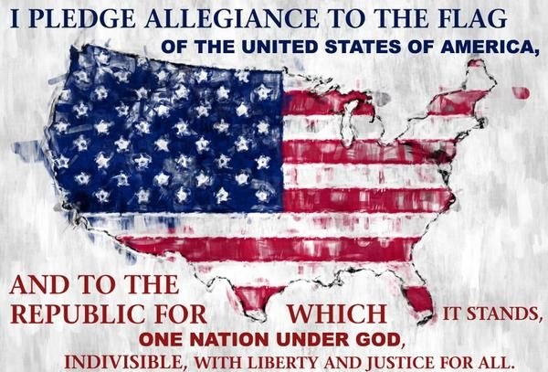 I pledge allegiance to the flag of the United States of America, and to the republic for which it stands, one nation under God, indivisible, with liberty and justice for all. Applesofgold.com