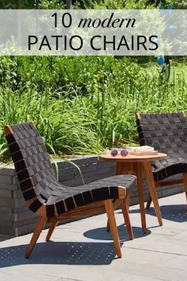 Modern Patio Chairs 2modern