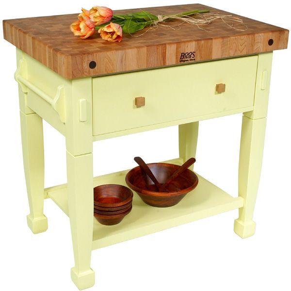 John Boos Jasmine Block: The Jasmine Block Makes A Great Kitchen Work  Table, Or
