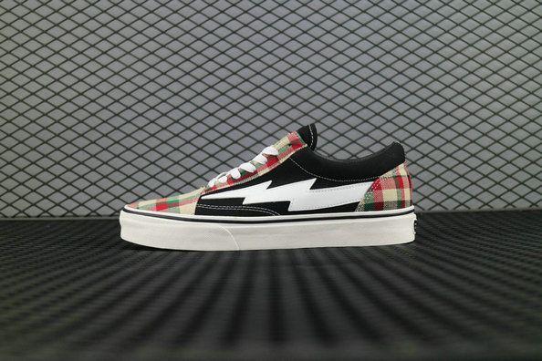 9e7d6a776dfd Revenge x Storm Pop Up Store Red Vans Plaid Black RPFW17SS001 6932403692862  Black Scotland Skate Shoe  Vans