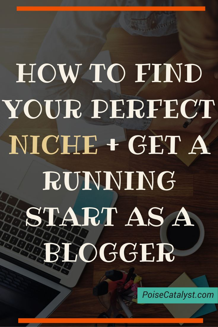 Here's how to find your perfect niche and get started fast as a blogger. Click through for an awesome tutorial by Melyssa Griffin!