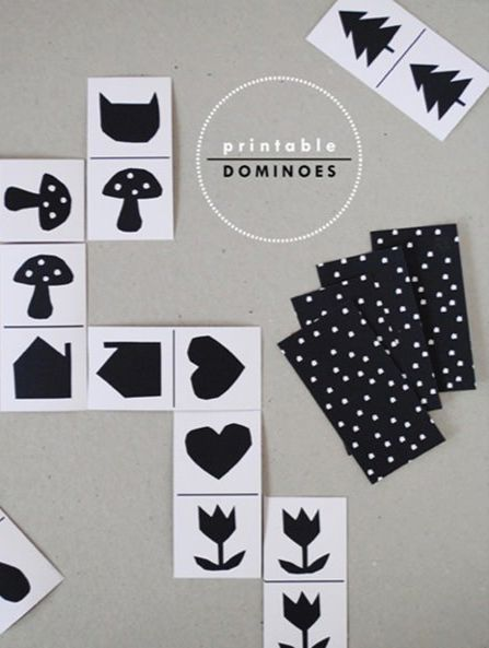 Printable Dominoes for Kids + How to play guide