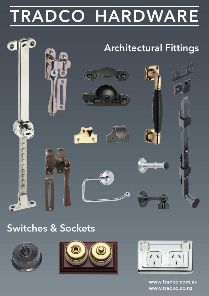 Tradco Architectural Fittings Catalogue by Tradco Hardware - issuu