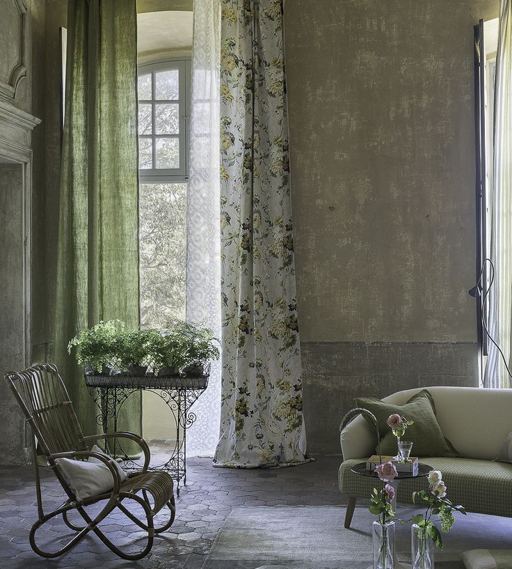 Interior Trends, Meadow Wildflower | Ophelia Fabric by Designers Guild | Jane Clayton