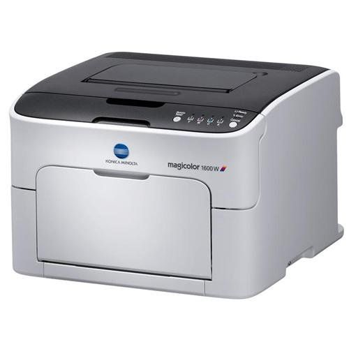 Konica Minolta Magicolor 1600W Laser Printer           $ 116.99 Laser Printers Product Features The magicolor 1600W is the smallest laser printer. Print documents in both B&W and color at 1200 x 600 DPI Exceptional Quality Print Output: Create smoother, more realistic looking images Easy to Connect: Ready to go out of the box, the magicolor 1600W Flexible Paper Options: Print on a […]  http://www.printersstore.com/konica-minolta-magicolor-1600w-laser-printer-2/