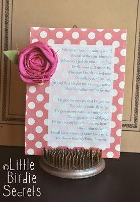 how to make a fabric rosette clip   Little Birdie Secrets