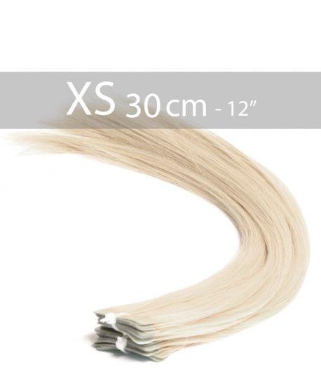 10 Extensions Adhésives 30cm - Blond platine 613 - 25 gr