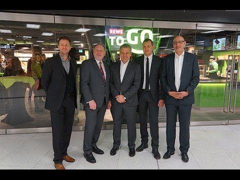 REWE to go: Eröffnung in München am Hauptbahnhof am 29.01.2015