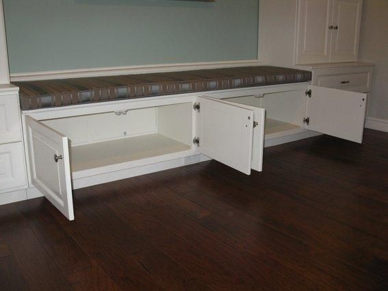 Bench Dining #4 - Built In Bench Seat With Storage | Home Design Ideas