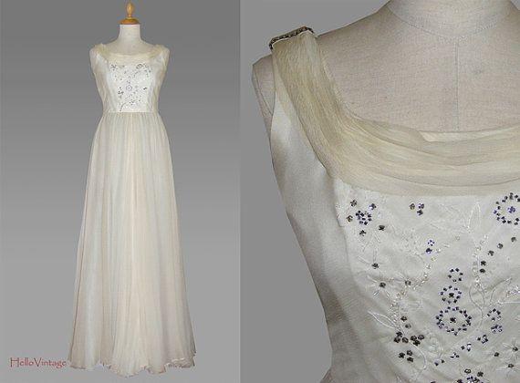 Vintage Brautkleid Seide, Vintage Hochzeitskleid, 70er Brautkleid, 1970er Hochzeitskleid