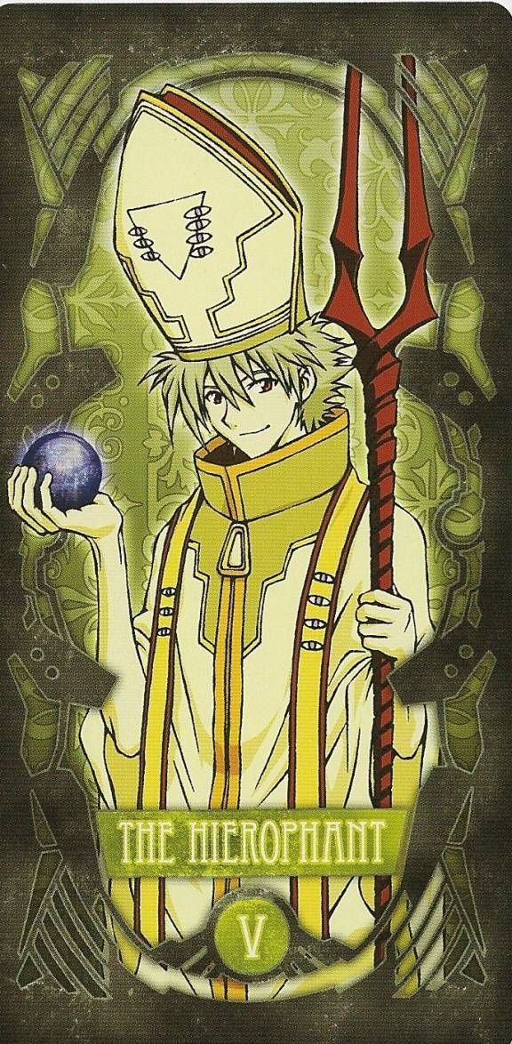 Tarot: Kaworu (El Sumo Sacerdote)