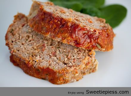 I'm pretty sure this is the best meatloaf I've ever made. I actually ate the left overs! That's says a lot.