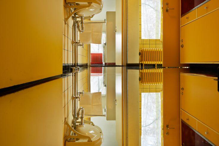 Inside Outside / Petra Blaisse, Sonneveld House². Photo: Het Nieuwe Instituut / Johannes Schwartz, 2015