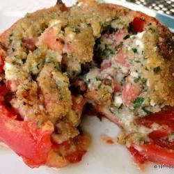 Grilled Stuffed Tomato - Italian Style