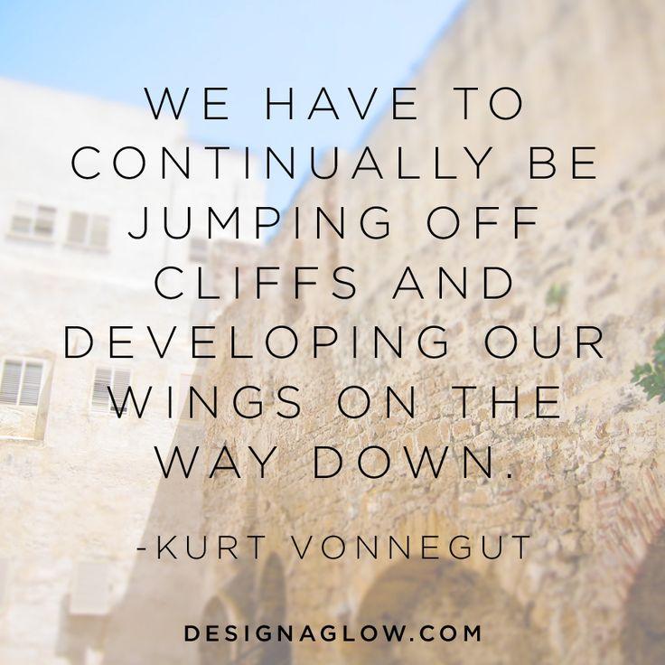 Inspired words from Kurt Vonnegut
