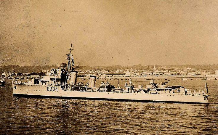 NRP VOUGA (V - D334). Também nas forças da Ditadura Militar, na repressão da Revolta da Madeira, de 1931.