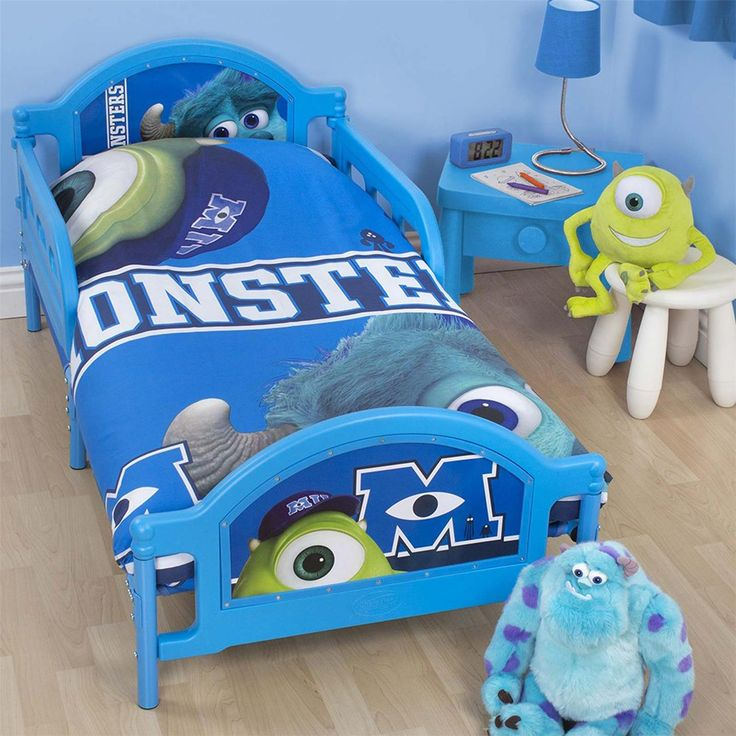 Monsters Inc University Junior Toddler Bed New